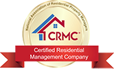 CRMC certified residential management company